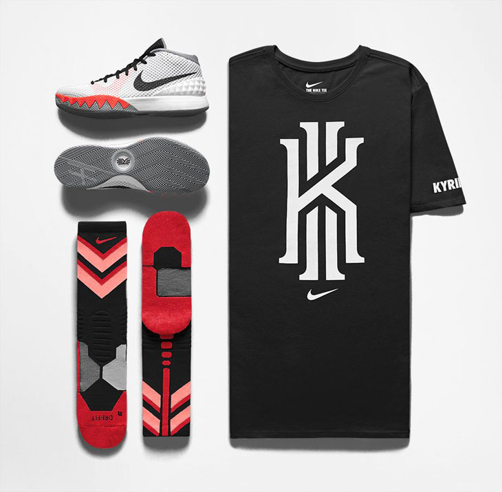 763e48c0 Nike Kyrie 1 Home Shirts and Clothing | SportFits.com