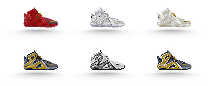 d26553cdf73 Nike LeBron 12 Elite iD   SportFits.com