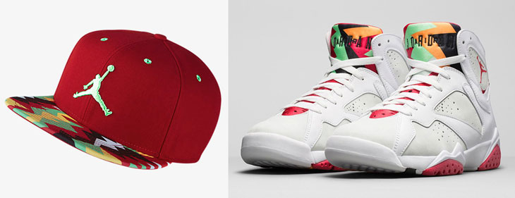 56d871902c0 Air Jordan 7 Hare Sneaker Hat
