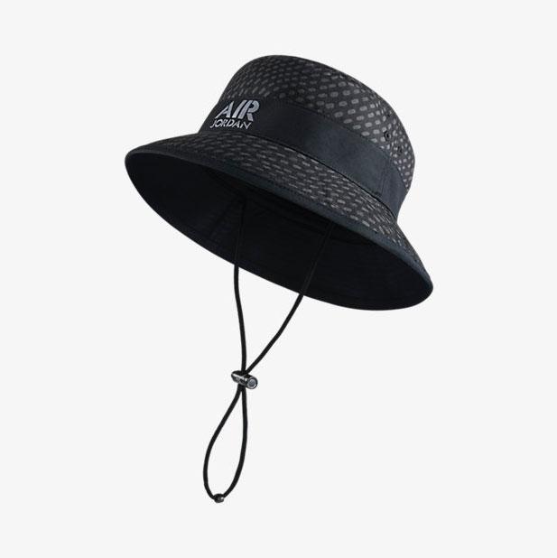 e58991d9c94 air-jordan-stencil-bucket-hat-black-front