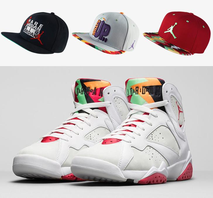 90ae1281759 Air Jordan 7 Hare Hats