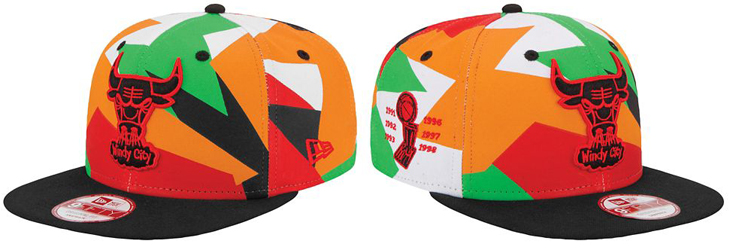 """0703eef3db4a39 New Era NBA Chicago Bulls Hat to Hook with the Air Jordan 7 """"Hare"""""""