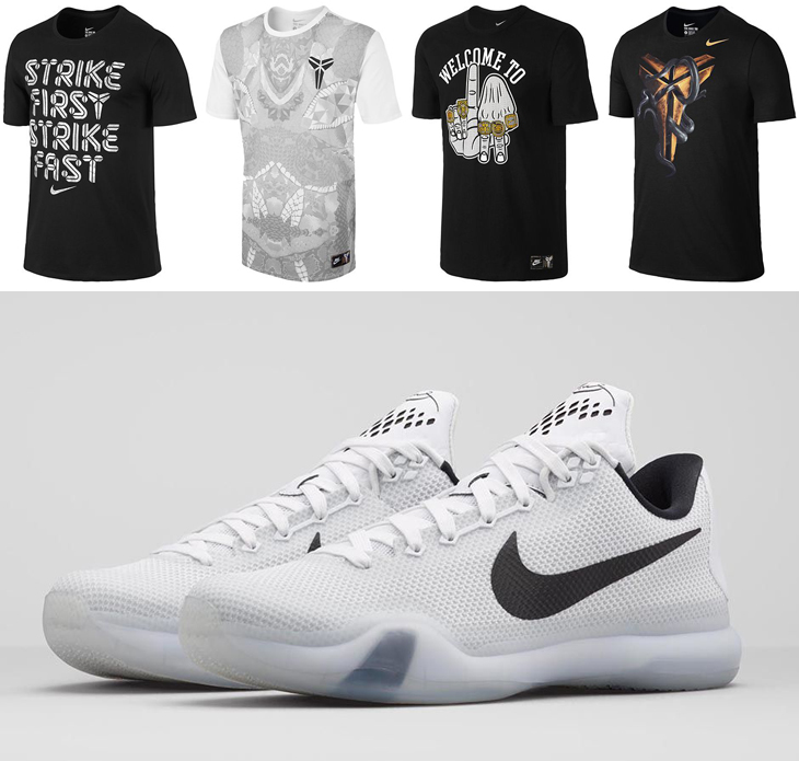 28747f20313e Nike Kobe X Fundamentals Shirts