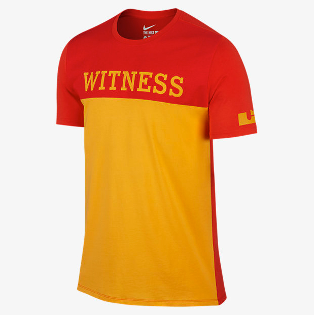 best loved 4135f e999f Nike LeBron Crown Witness T-Shirt