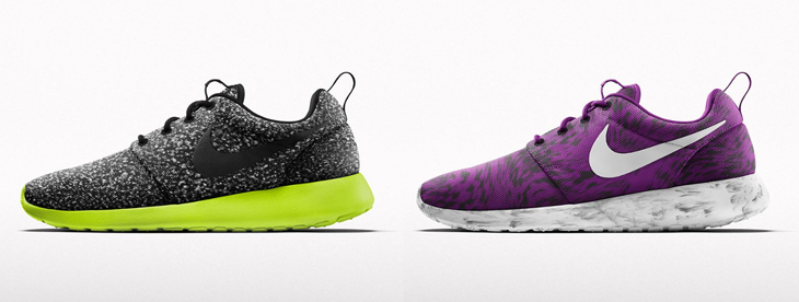 3326ded2434 Nike Roshe One iD New Splatter and Wind Blur Graphics Now Available ...