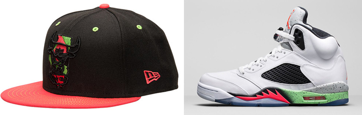 air jordan 5 space jam hat