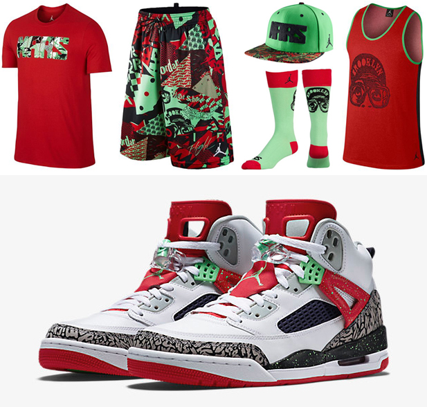 13fcad1bd2b Jordan Spizike Poison Green Clothing Shirts Socks Hats | SportFits.com