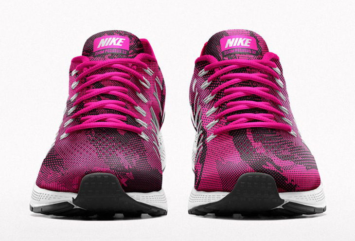 best service 0568b 553dd Nike Air Zoom Pegasus 32 iD Now Available to Customize on NIKEiD