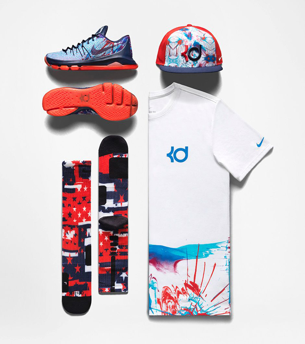 4d577778f Nike Basketball 4th of July Collection