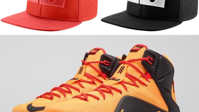 1c5078ef7b nike-lebron-12-witness-cleveland-hats