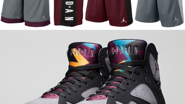 "8cdc549a6280 Jordan Shorts to Sport with the Air Jordan 7 ""Bordeaux"""