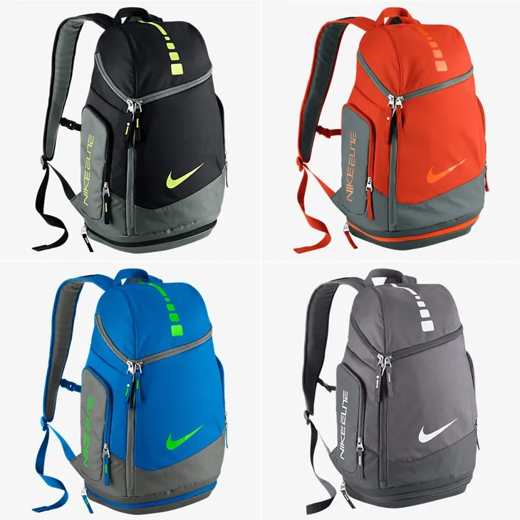 87d0b237daa Nike Hoops Elite Max Air Team Backpacks – Fall 2015 Colors
