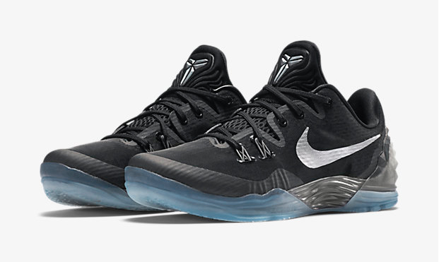 f701679cb489 Nike Kobe Venomenon 5 Black Silver