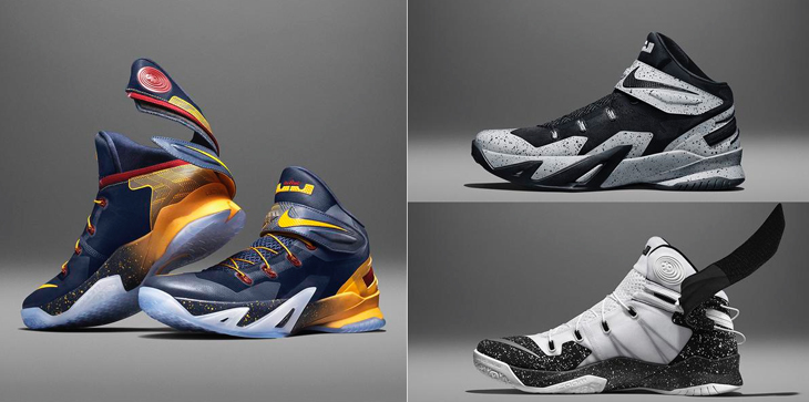 e7feabb6d153 Nike LeBron Zoom Soldier VIII Flyease