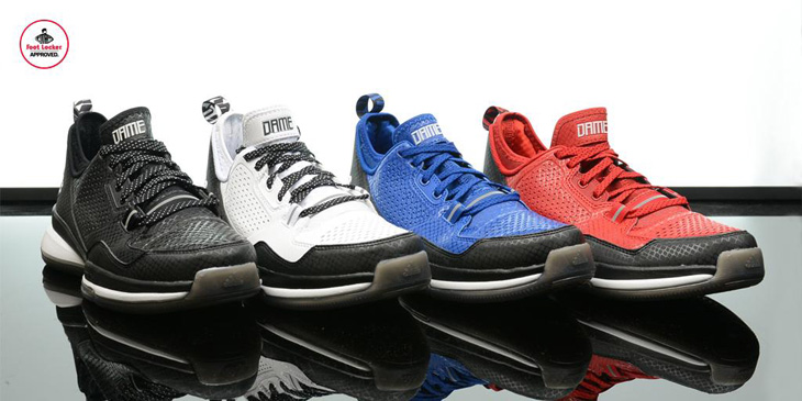 sports shoes c2964 b53ed adidas-d-lillard-1-team-colorways