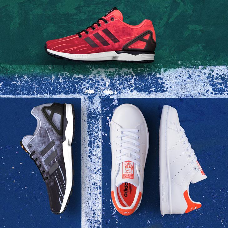 ca7fdf3a2 adidas Originals ZX Flux. adidas-originals-us-open-shoes