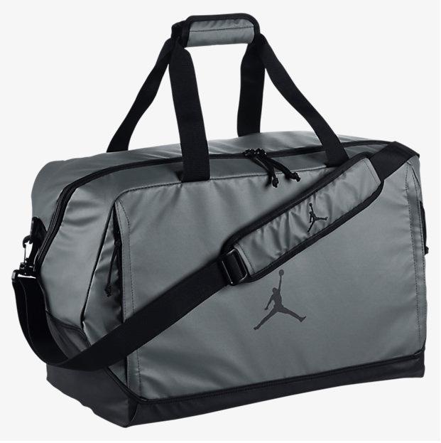 65aecabd5c4b jordan-duffel-bag-grey-black-front