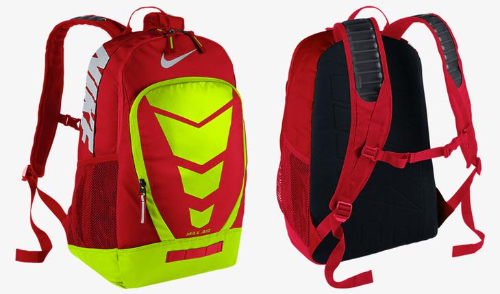 7f01e3122b Nike Max Air Vapor Backpacks Fall 2015 Colors