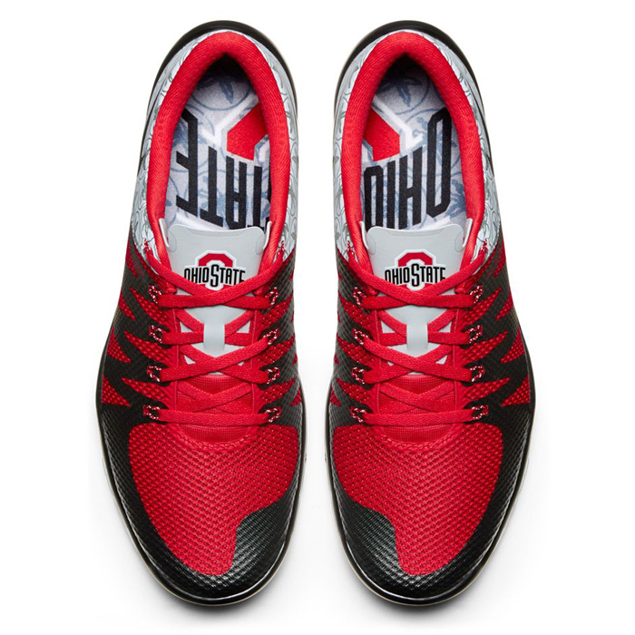 detailed look 8be19 1fbcc nike-free-5-v6-ohio-state