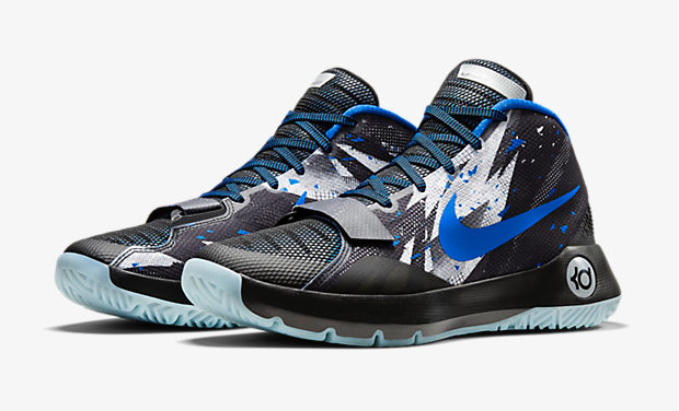 09b13d1dcb8f ... kd trey 5 iii premium blue shoes Mens Nike ...