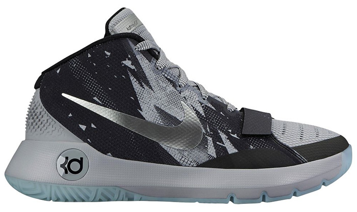 "best sneakers 27d7d d1590 Nike KD Trey 5 III Premium ""Black Metallic Silver Wolf Grey"""