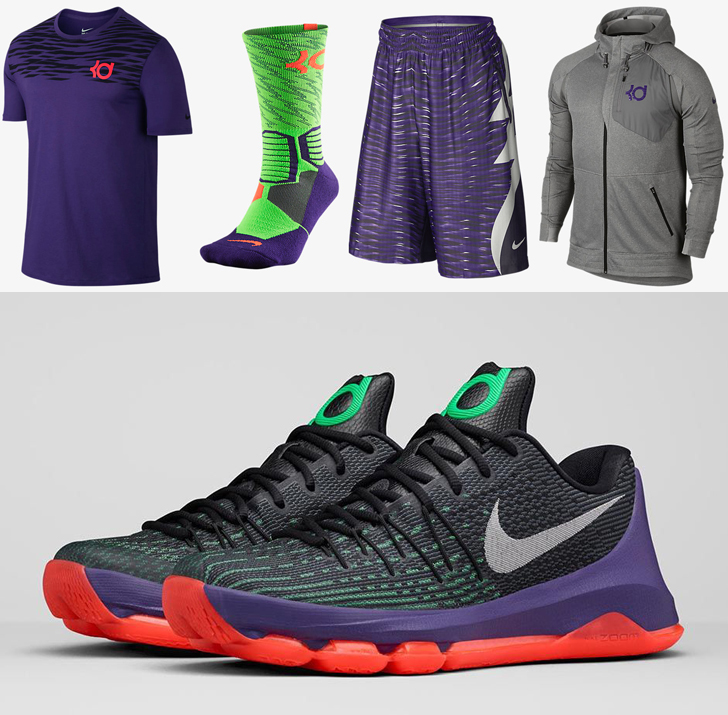 Nike KD 8 Vinary Apparel and Gear