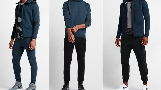 2b609a3fa544 Nike Tech Fleece Squadron Blue Clothing