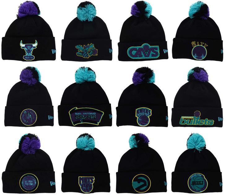 11657da7fb74e8 New Era Jordan 8 Aqua Knit Hat Beanies