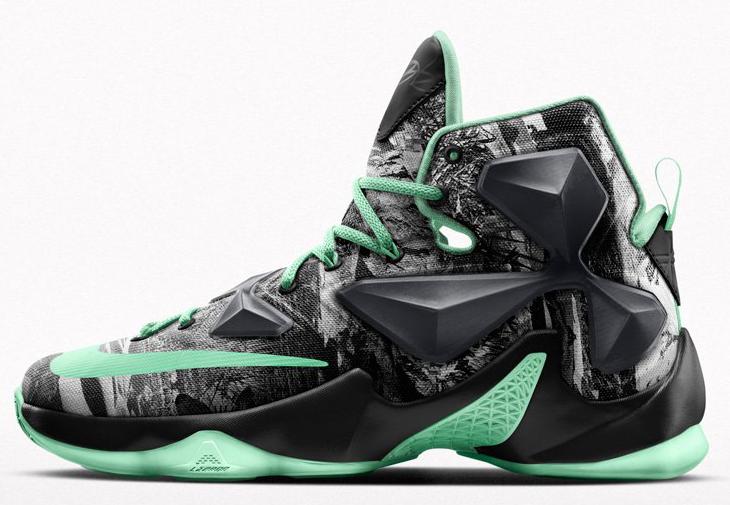 d237f647aaa Nike LeBron 13 Akronite Graphic on NIKEiD
