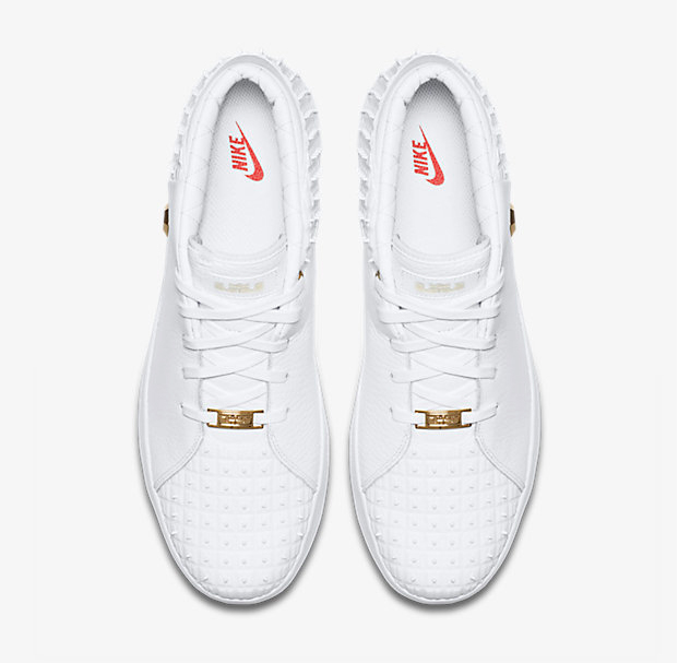 meet c5e6d a968e nike-lebron-13-lifestyle-white-red-gold-3