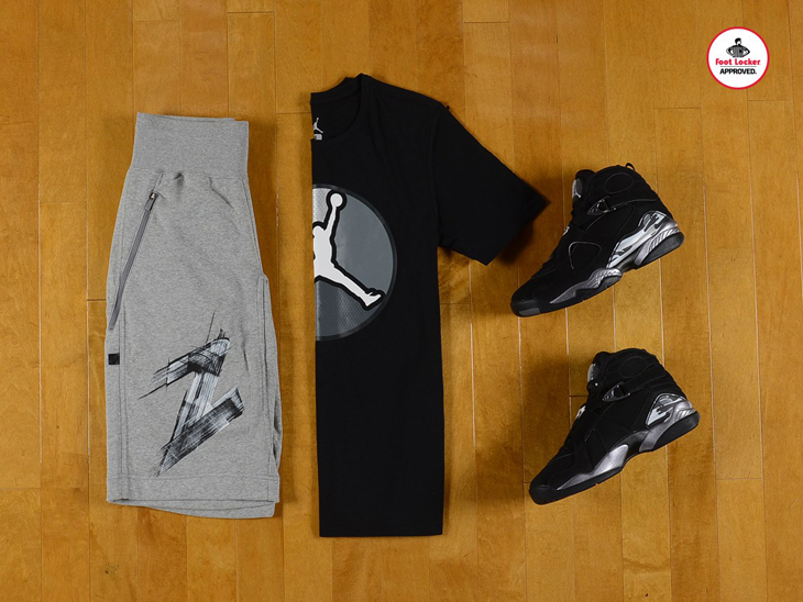 uk availability 70c91 62ad6 air-jordan-8-chrome-apparel-1. Jordan Retro 8 Fleece Shorts – Buy at  Footlocker.com