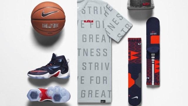 various colors 39572 d660f Nike LeBron 13 Midnight Navy Team Clothing | SportFits.com
