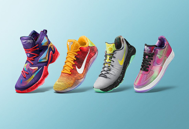"""the best attitude 000dd a14d1 Nike Basketball s """"Stars of the Vault"""" Collection Hits NIKEiD for NBA  All-Star Weekend"""
