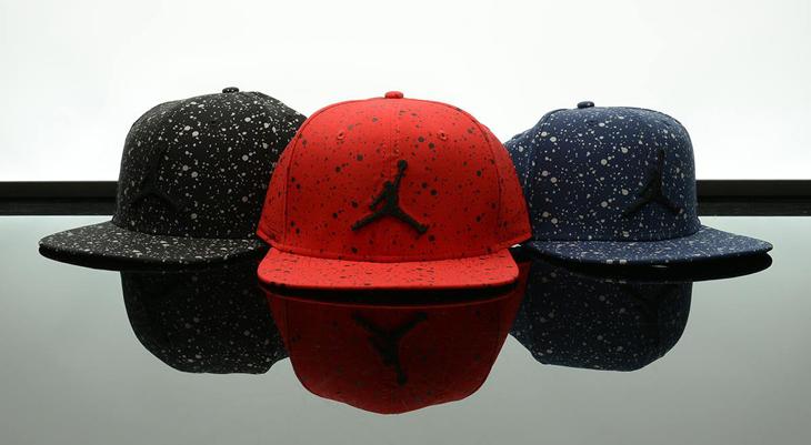 ec0c07d9545f Jordan Speckle Print Snapback Caps