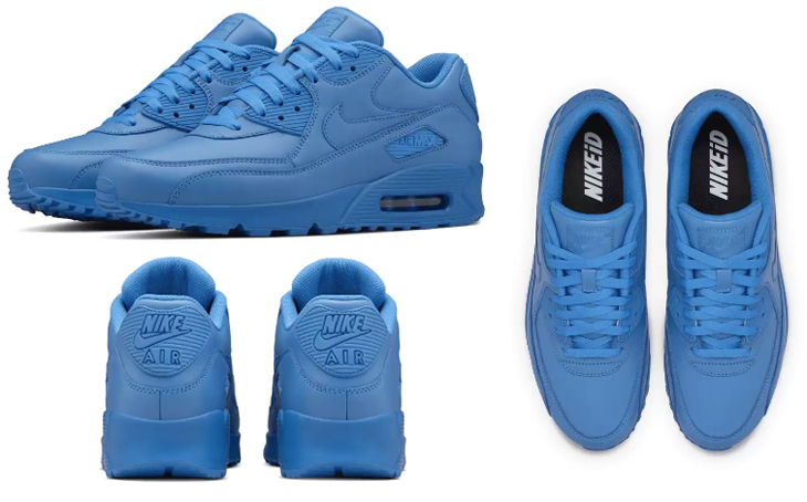 """low priced d4929 66d59 Nike Air Max 90 iD """"OKC"""" Colorway Designed for Kevin Durant"""