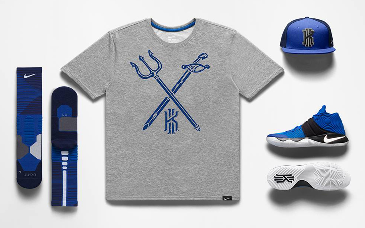 2d030e2f2930 Nike Kyrie 2 Brotherhood Alma Mater Clothing and Shoes
