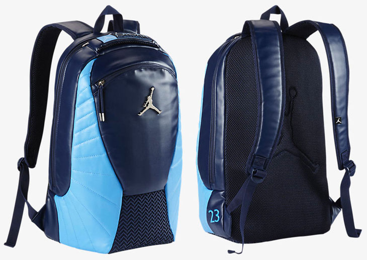 "0cff4e8eba70 Air Jordan 12 ""UNC"" Backpack"