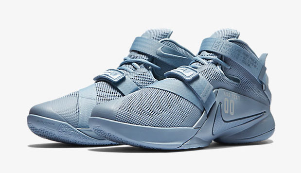 31e6730aca3 promo code for nike lebron soldier 9 blue grey 2 2476f f996f