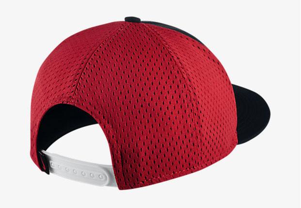 2ab1dd0534 nike-lebron-witness-performance-hat-black-red-2