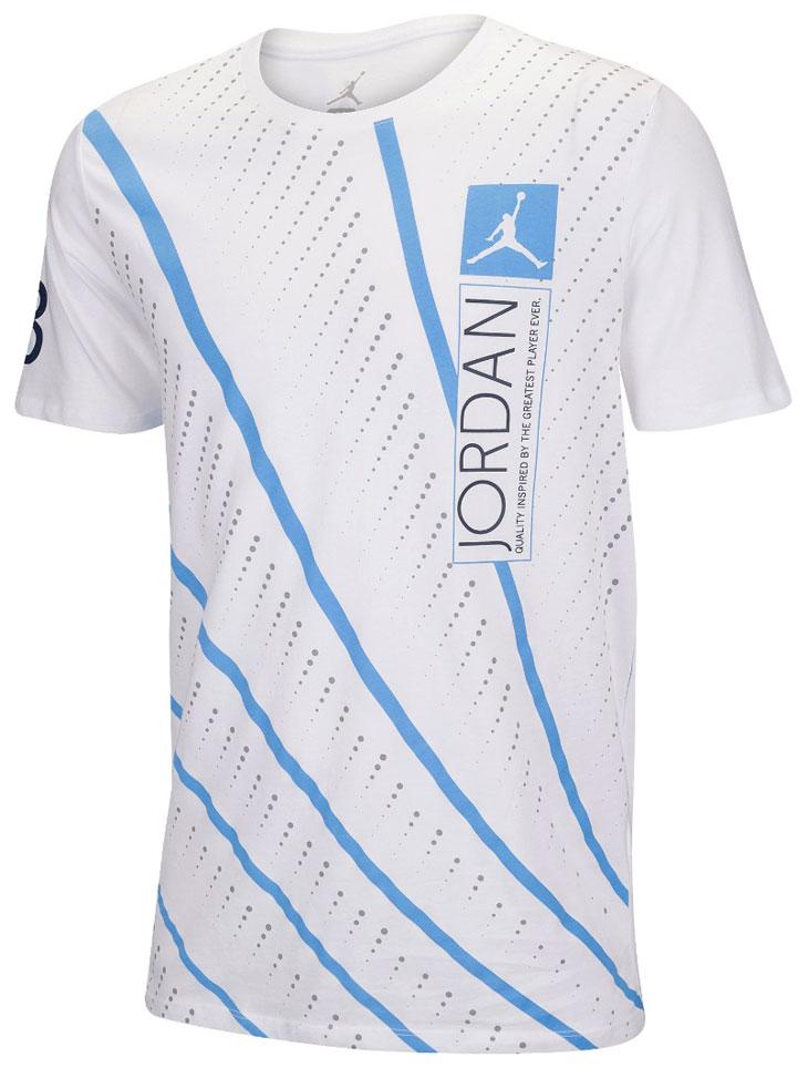 wholesale dealer abbce 29b37 air-jordan-12-unc-lines-t-shirt