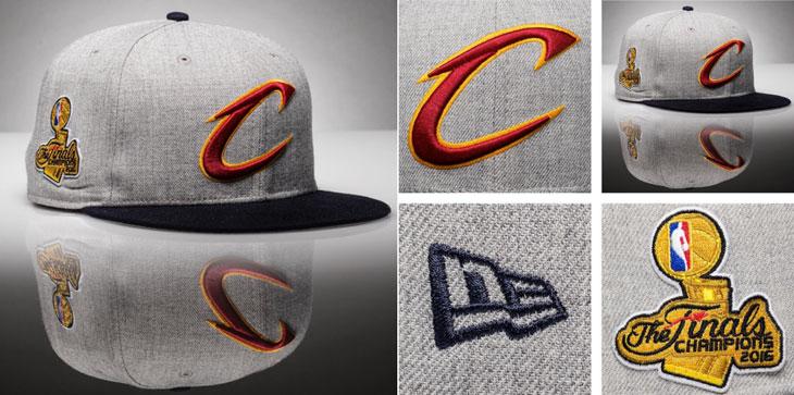 a053a0ab30601a New Era Cleveland Cavaliers 2016 NBA Champions Hat | SportFits.com