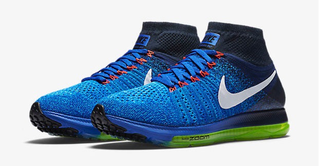 Nike Zoom All Out Flyknit (Racer Blue White Obsidian Blue Glow)