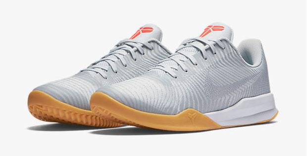 "premium selection 7f8d7 0e31b Nike Kobe Mentality 2 ""White Pure Platinum Bright Crimson Wolf Grey"""