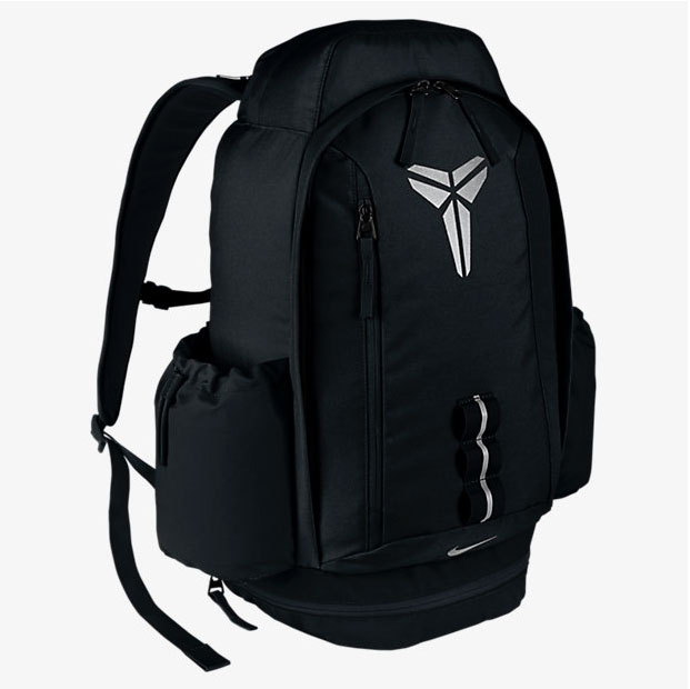 0d72e9c20e Nike Kobe Mamba 11 Backpack Black Silver