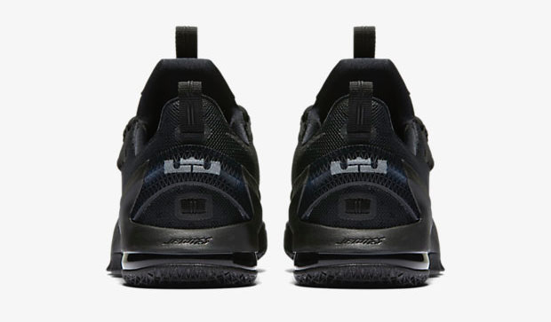 new style 0e3f1 bd83a Nike LeBron 13 Low Triple Black | SportFits.com