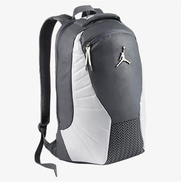 "1b7eb145e195cc Air Jordan 12 ""Wolf Grey"" Backpack"