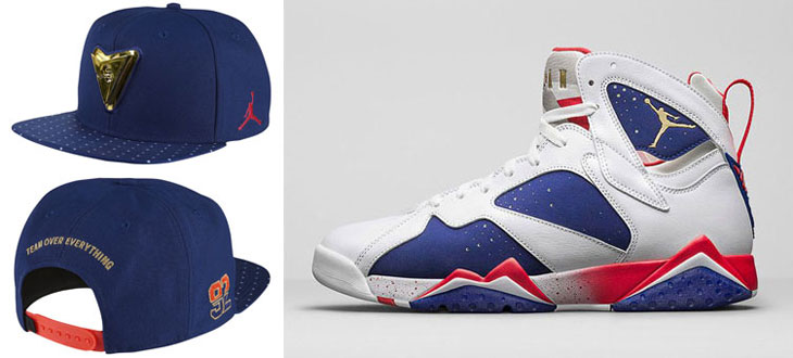 Air Jordan 7 Olympic Alternate Hat  951ef55fe91