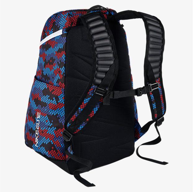 09352fcb1715 Nike Hoops Elite Max Air Team 2 Graphic Backpack Blue Red Black ...