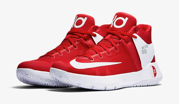 kd trey 5 red white navy
