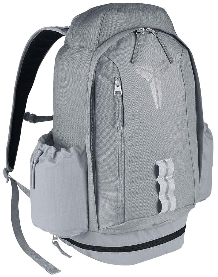 d4328267f3 Nike Kobe Mamba 11 Backpack Grey Black Silver